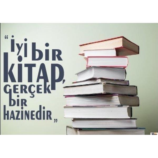 Kitap Okumak Afişi (Posteri) 7 En Uygun Fiyatlarla | Okul Center ...